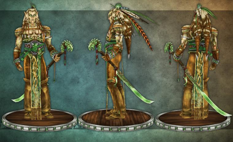 Blade Dancer construction 02 by HeV3D
