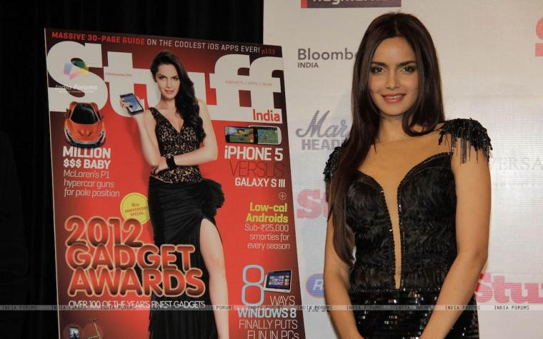 cover of STUFF magazine at The Comedy Store 242878 size1280x800