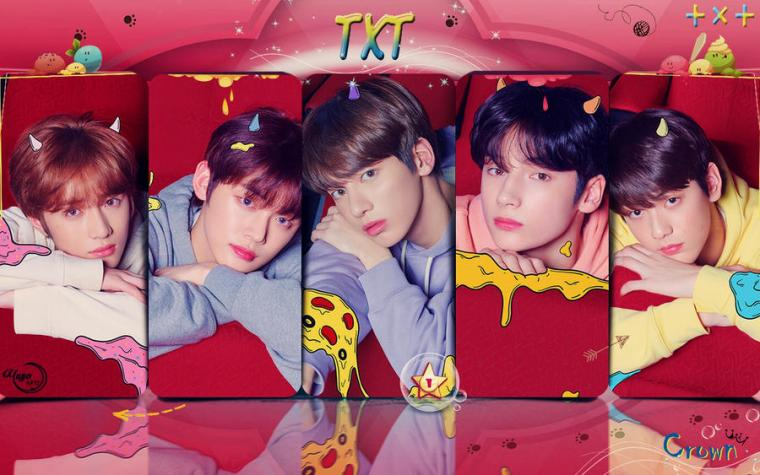 TXT CROWN WALLPAPER by YUYO8812