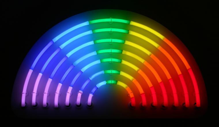 1920x1080px Neon Lights Background 445993
