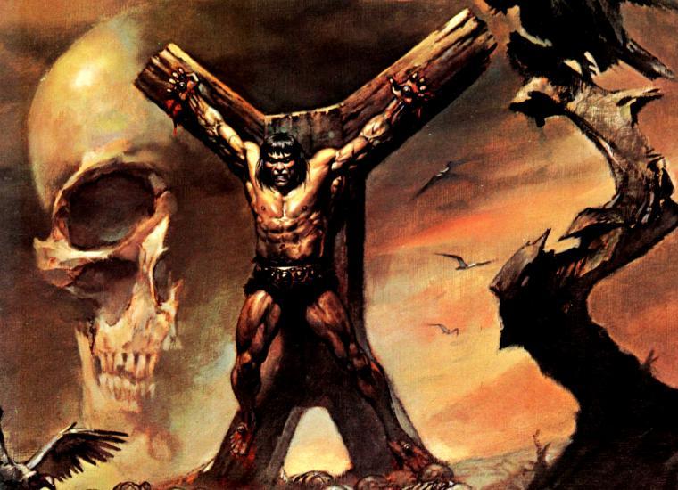 Conan The Barbarian Art Wallpaper Conan the barbarian g