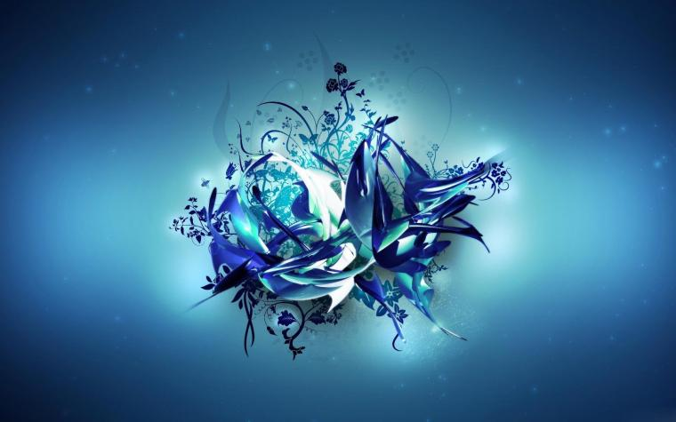 3d Blue Abstract Wallpaper 8544 Hd Wallpapers in 3D   Imagescicom