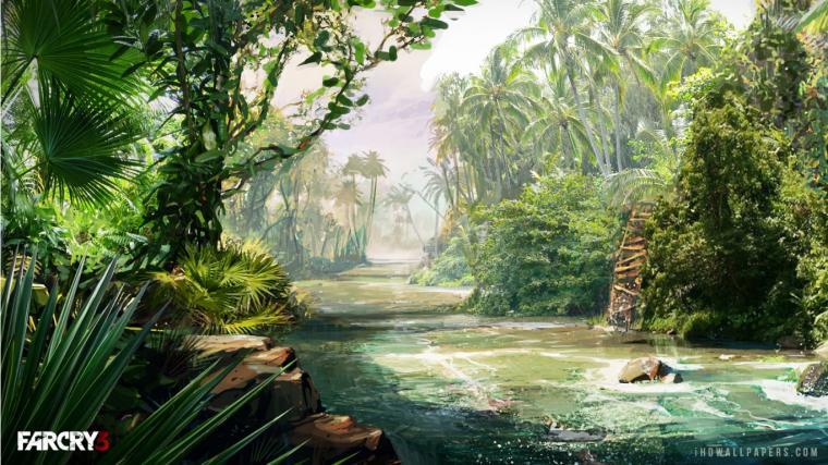 Far Cry 3 Jungle HD Wallpaper   iHD Wallpapers