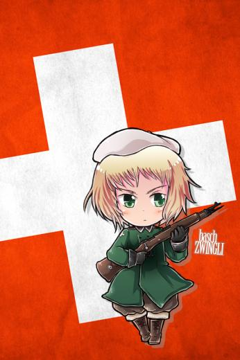 Hetalia iWallpapers   Switzerland by Dreamweaver38