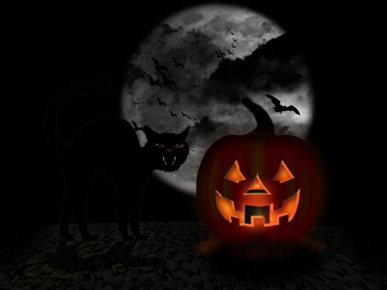Animated Halloween Wallpaper 3 D
