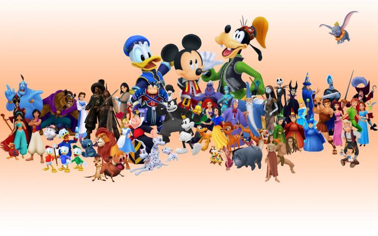 Walt Disney Characters Pictures HD Wallpaper of Cartoon