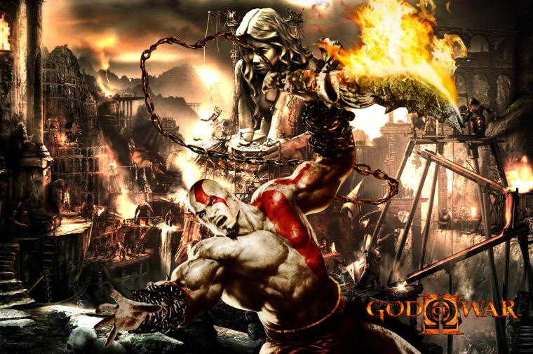 HD Wallpapers HD wallpapers God of war 3