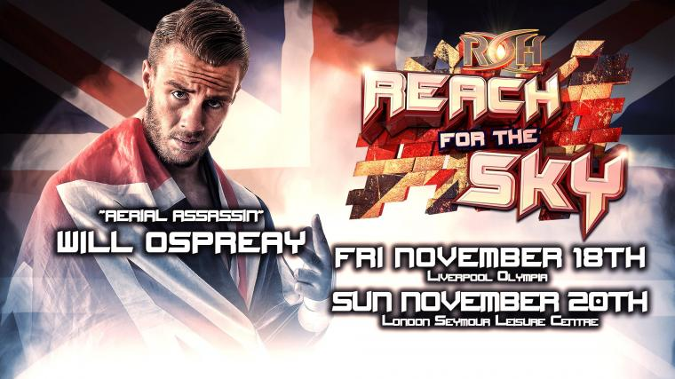 More Details on Will Ospreay Making Ring of Honor Debut WWE Makes