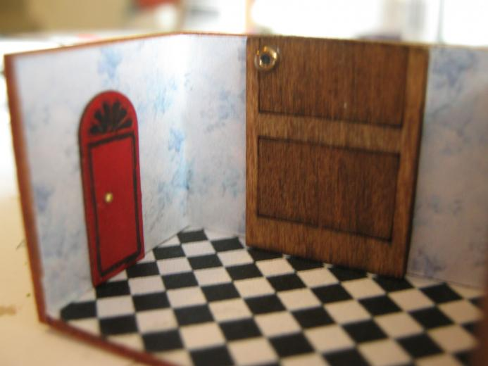 The Pin Factory Alice in Wonderland Room