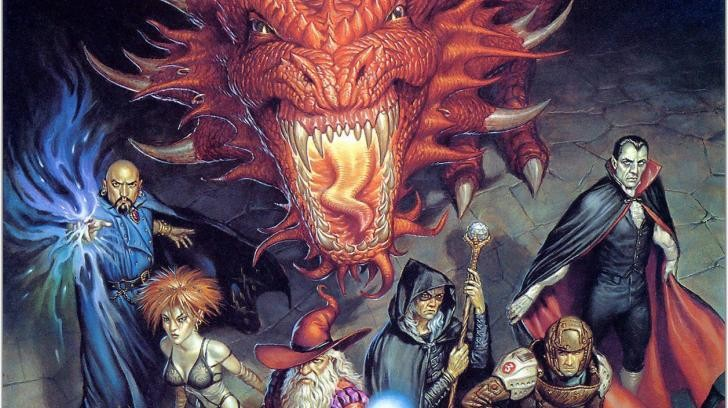 Heroic fantasy 2042 todd lockwood dungeons and dragons wallpaper