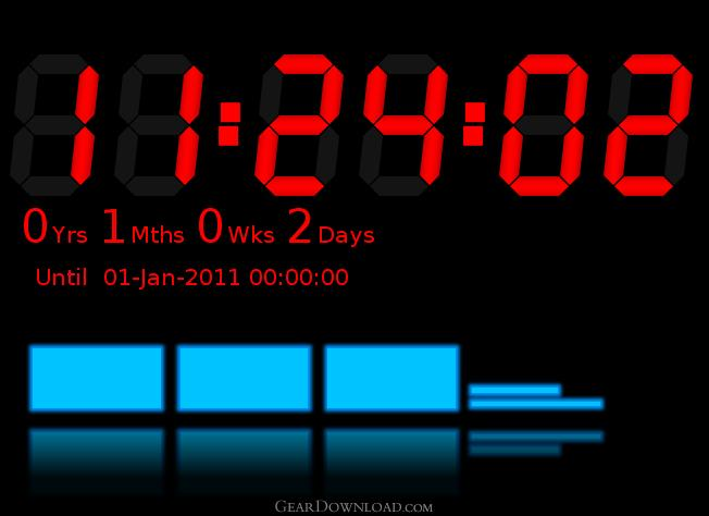 downloadable countdown clock for desktop