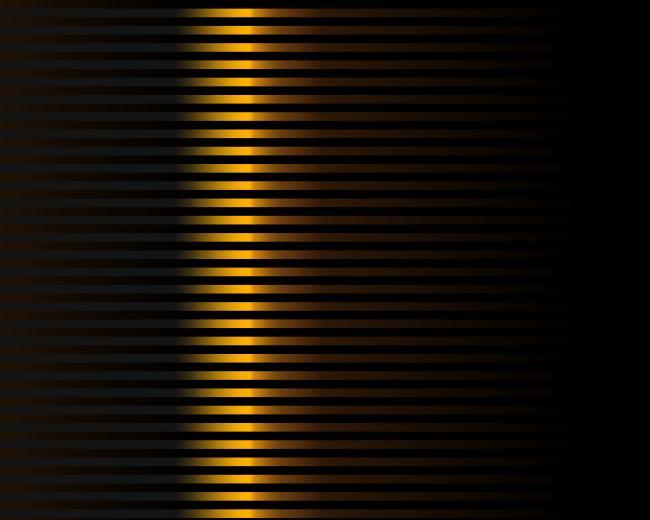 Gold And Black Striped Wallpaper Stripe pattern   half black