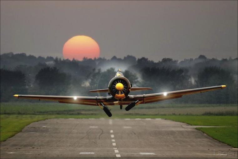 aircraft take off runway planes vehicles propeller plane HD Wallpaper