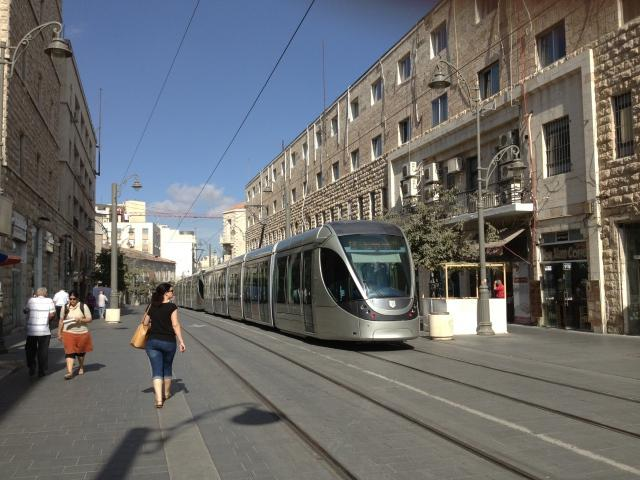 Street Train Israel wallpapers and images   wallpapers pictures