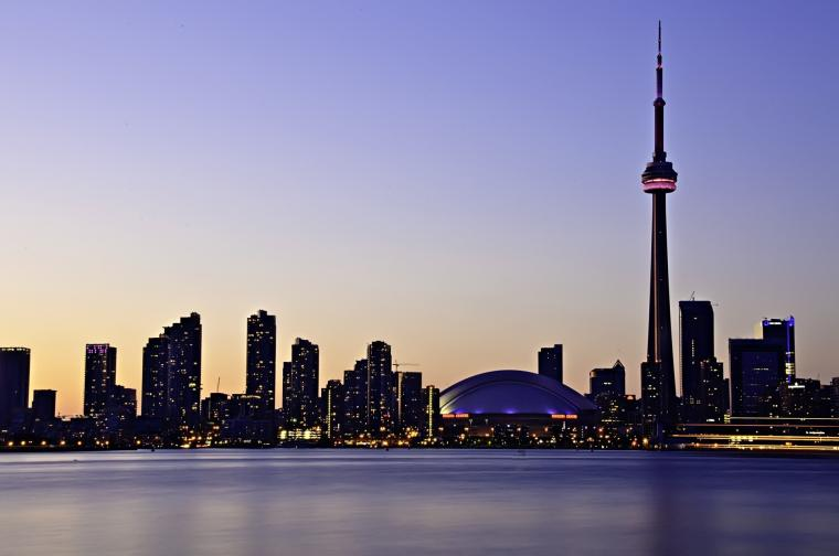 Toronto Skyline   OGQ Backgrounds HD