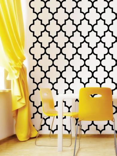 Trellis Pattern Wall Decals