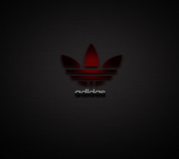 Adidas Logo Android wallpaper HD