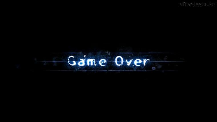 Papel de Parede Game Over