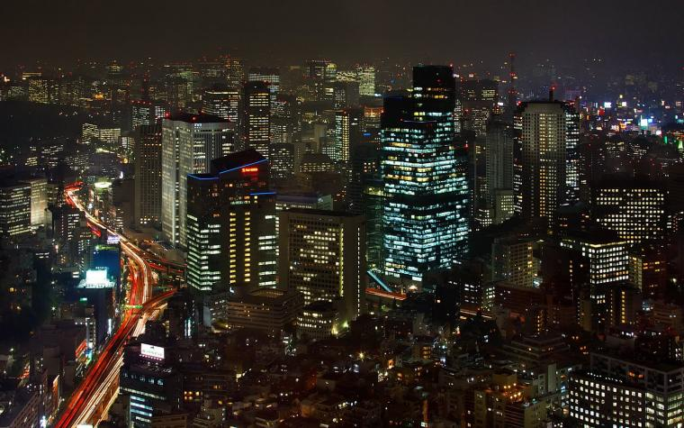 Tokyo at Night Wallpaper