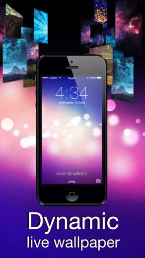 Dynamic Wallpapers 3D Parallax Live Theme on Lock Screen and Home