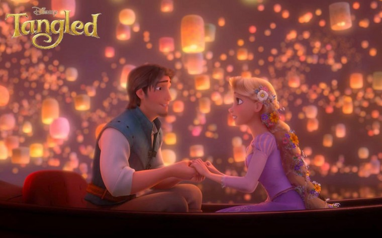 Desktop Wallpaper Disney Tangled Wallpaper Page 2
