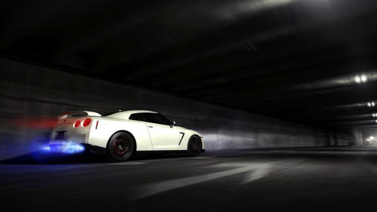 Gtr R34 Iphone Wallpaper Nissan Skyline GTR Backfire Flame wallpaper