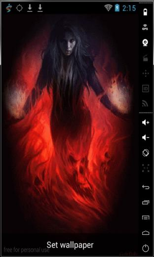 Download Wrapped To Fire Live Wallpaper for your Android phone