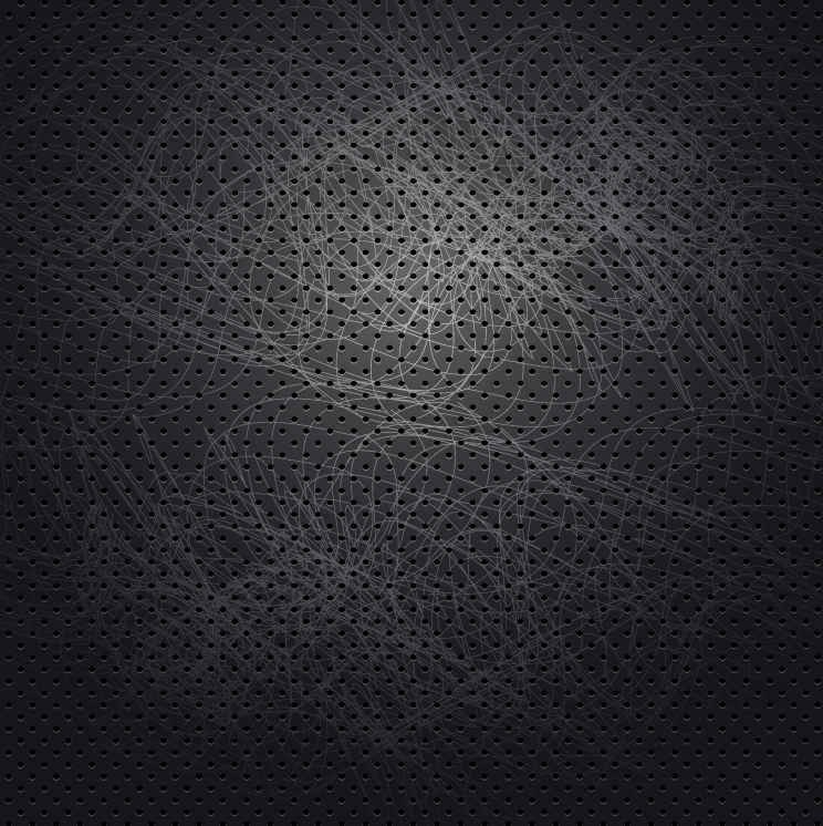 black Fashion abstract vector background Vector Background