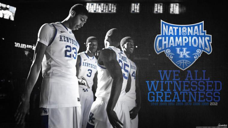 Kentucky Wildcats   We Witnessed Greatness by OwenB23