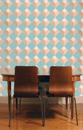 ready to commit Removable Wallpaper options from Apartment Therapy