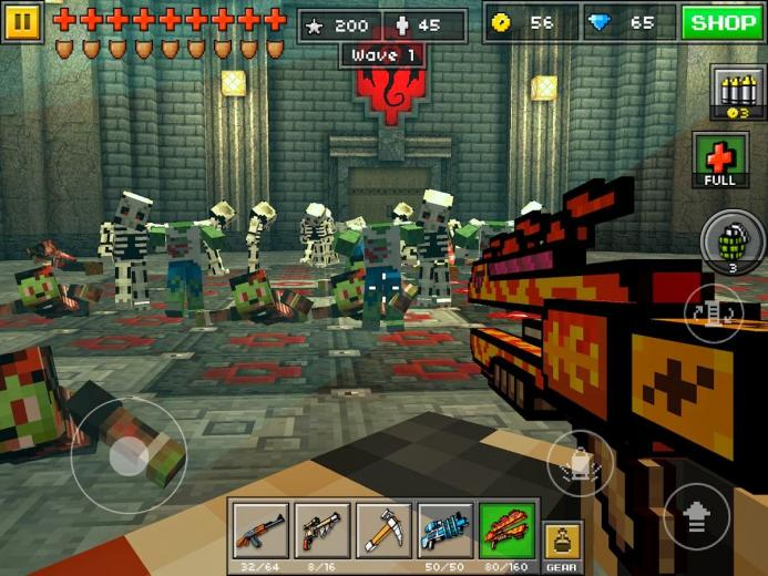 whats new and improved in the new Pixel Gun 3D Android app update