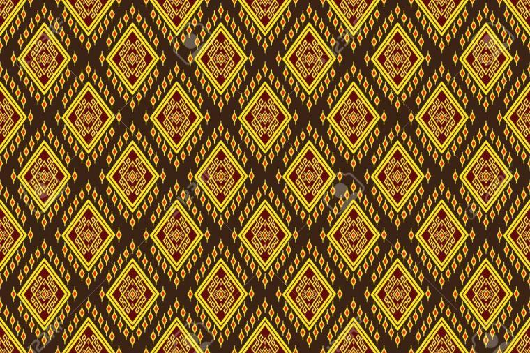 Geometric Ethnic Pattern Design For Backgroundcarpetwallpaper