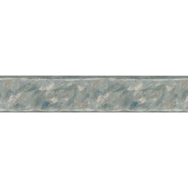 451 1749 Dark Blue Brushstrokes   Brewster Wallpaper Borders