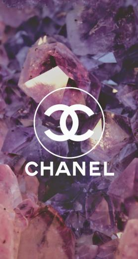 Coco Chanel Logo Diamonds iPhone 6 Plus HD Wallpaper iPod Wallpaper