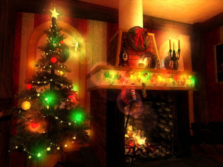 Christmas Magic 3D screensaver its time to ask Santa to fulfil your