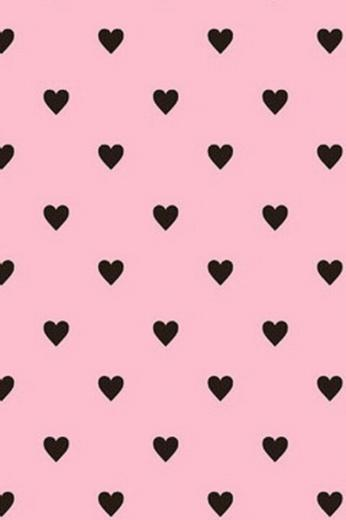 Pink And Black Wallpapers Black Cute Heart Pink