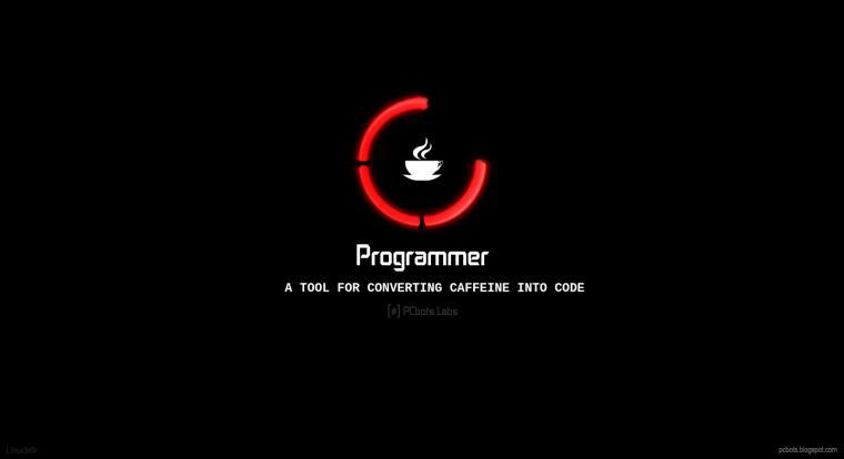 Caffeine Loading Please Wait   Programmer HD Wallpaper by PCbots