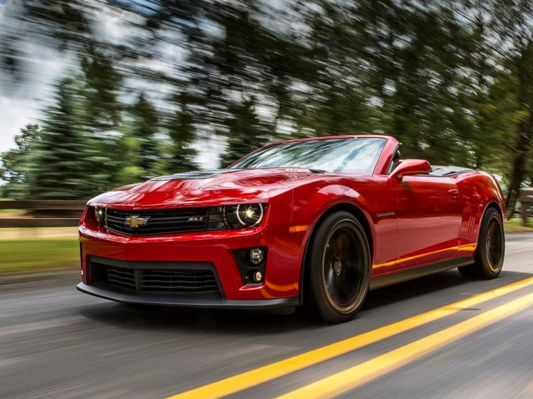 2013 Chevrolet Camaro ZL1 Convertible   Wallpapers