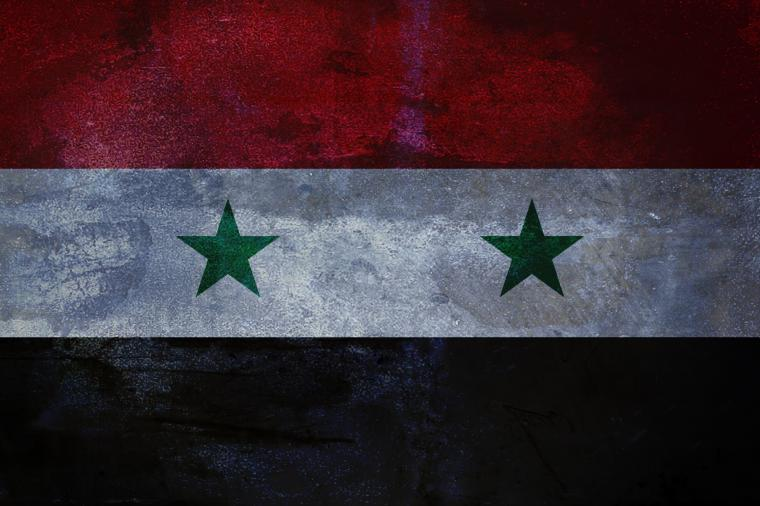 Syrian flag by SyrianDignity
