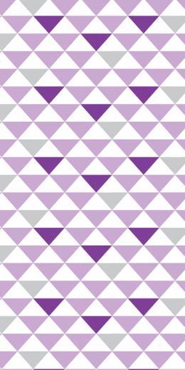 Geometric Triangles PurpleGrey BC Magic Wallpaper