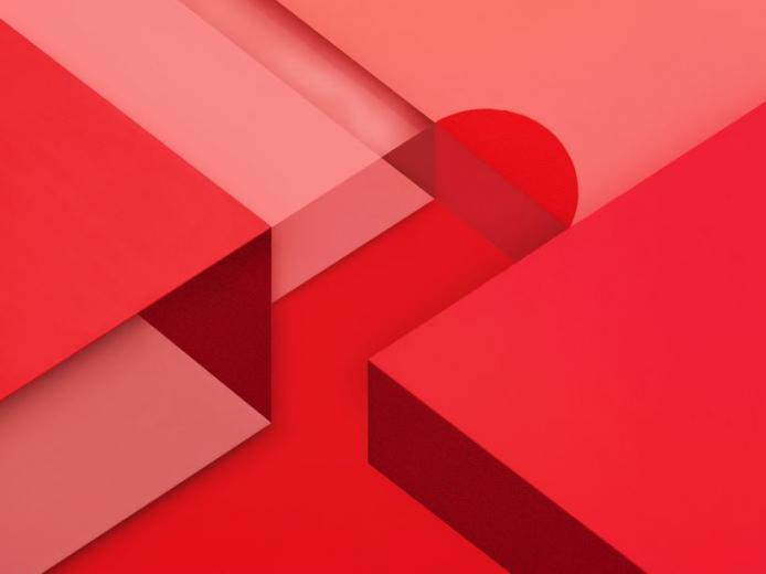 android m wallpaper text rotes wallpaper