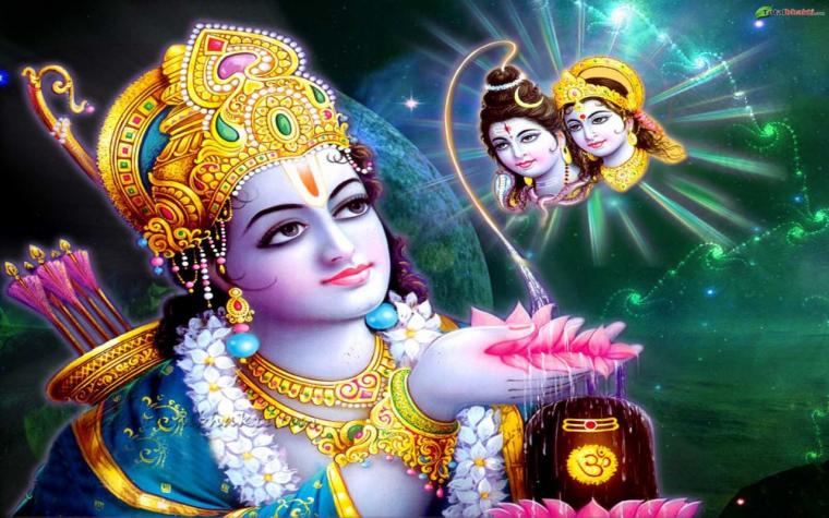 indian god rama hd nice wallpaper 1280x800