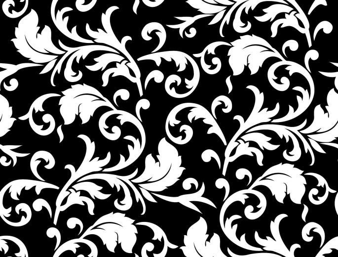 traditional floral pattern background 03 vector Vector 4Vector