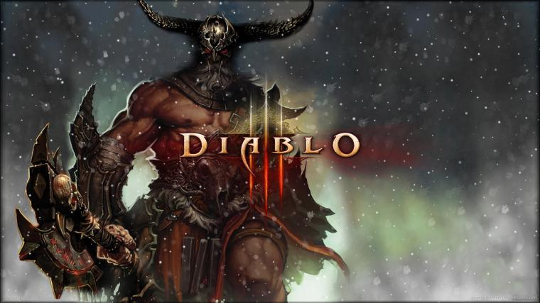 Diablo 3 Barbarian wallpaper   876995