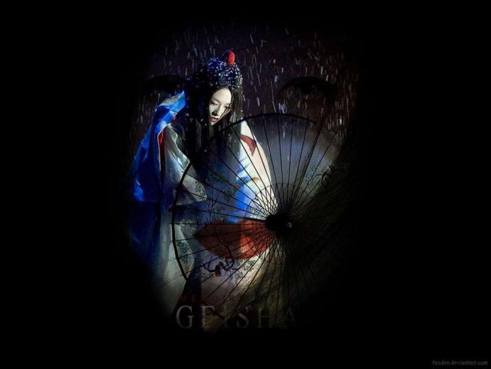 Geisha Wallpaper Wallpapersjpg