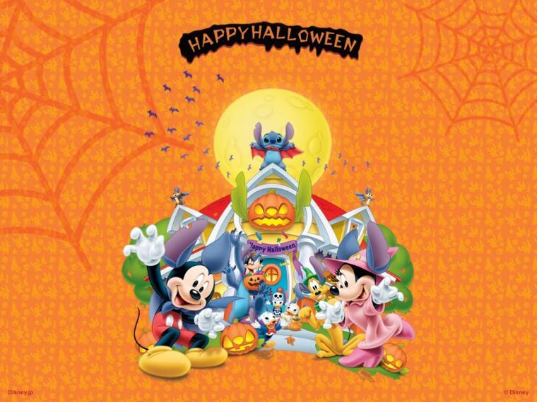 disney desktop wallpaper computer Disney Halloween