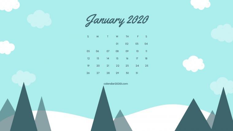 2020 Calendar Monthly HD Wallpapers Calendar 2020