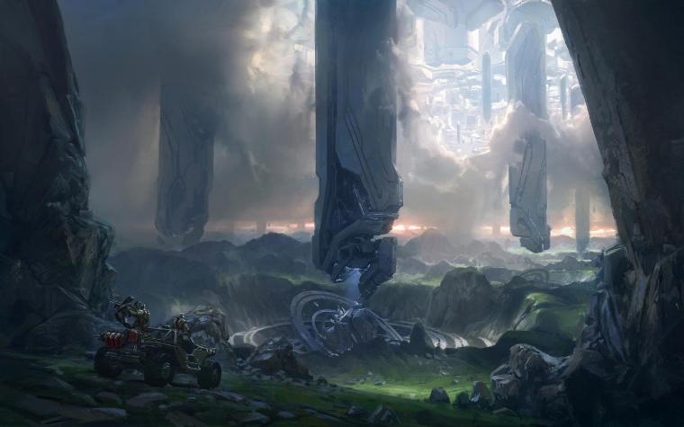 Halo 4 Wallpaper Concept Art The Jesters Corner