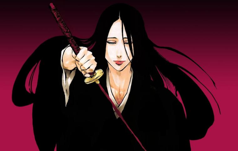 Wallpaper sword game Bleach woman anime ken bankai brunette