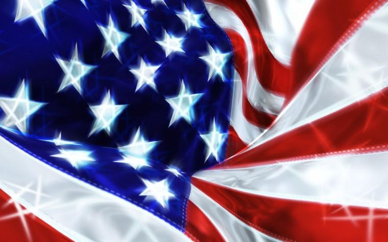 1440x900 USA Flag Celebration desktop PC and Mac wallpaper